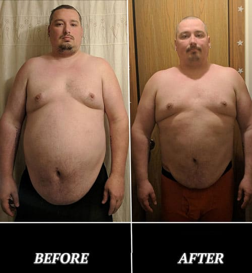 Geoff 30 Day Challenge Before and After Photo